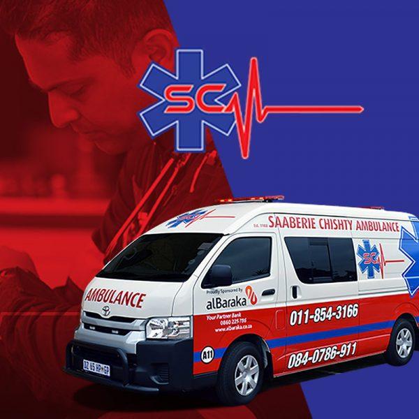 Saaberie Chishty Ambulance